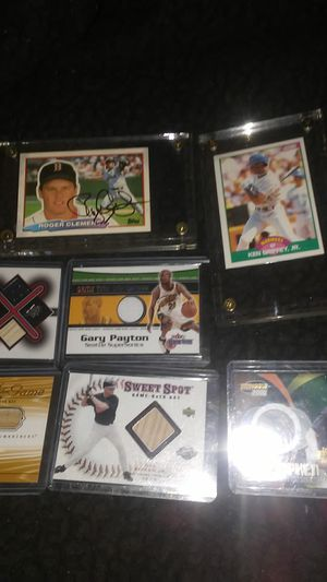 Baseball cards autographed for Sale in Tacoma, WA