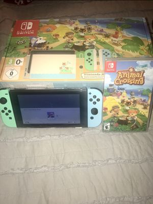 Customize animal crossing switch with game for Sale in Sebring, FL
