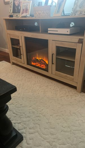 Fireplace tv stand for Sale in Yonkers, NY