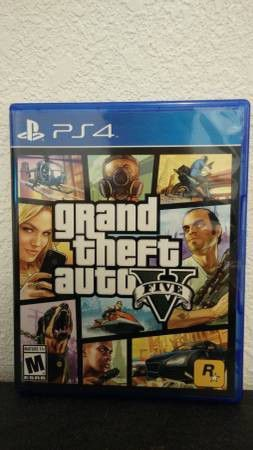 GTA 5 - PS4, FIRM PRICE, NO TRADE, GREAT CONDITION for Sale in Garden Grove, CA