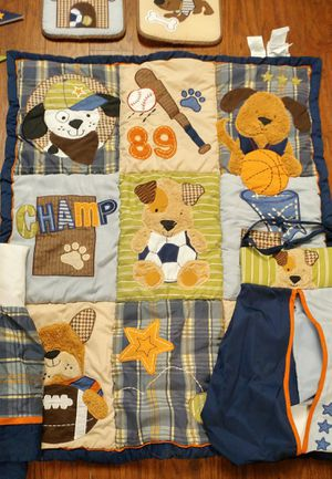 Puppy crib set and decor for Sale in Saginaw, TX