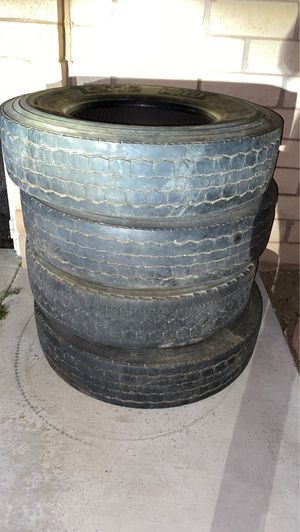 Good year Semi-trailer tires 22.5 for Sale in Bloomington, CA