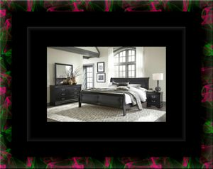11pc Black Marley bedroom set for Sale in Crofton, MD