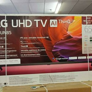 """65"""" LG Smart Tv UHD HDR HDMI 2.1 2020 for Sale in Las Vegas, NV"""