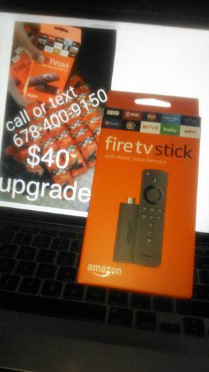 Upgrade one today. (4O Amazon fire appks stick upgrade for Sale in Atlanta, GA