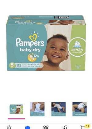 Diapers size 5 for Sale in Rancho Cucamonga, CA