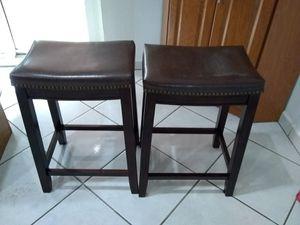 Two cushion bar stool for Sale in Hialeah, FL