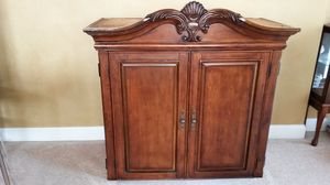 Solid wood Armoire Top.New never used for Sale in Wheeling, IL