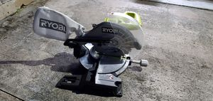 "Miter saw ryobi 10"" good condition for Sale in Plantation, FL"