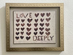 'Love Deeply' wall hanging for Sale in Bend, OR