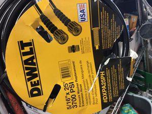New DeWalt 25 Ft. 3700 PSI Pressure Washer Hose. #DXPA25PH for Sale in Laurel, MD