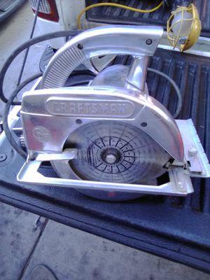 Craftsman circular saw for Sale in Las Vegas, NV
