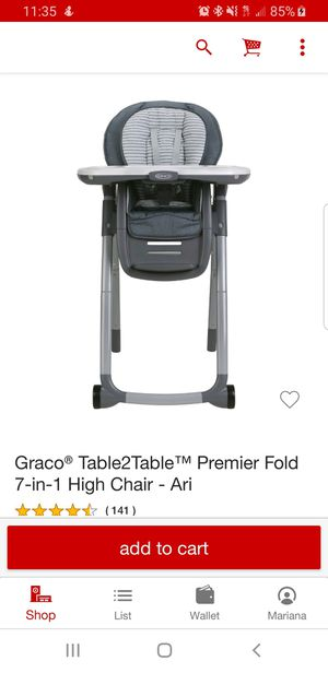Graco high chair for Sale in Azalea Park, FL