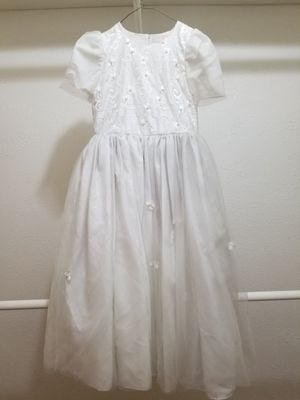 Young Girl's Fancy Formal Evening Ballroom Dress Size 12 for Sale in Mesquite, TX