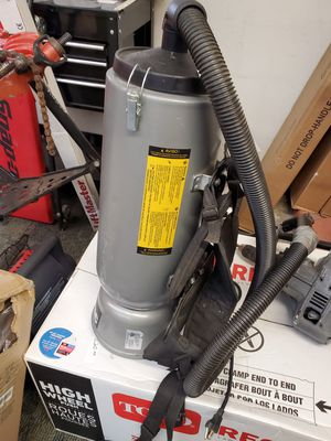 Totally Sealed hepa Backpack vacuum cleaner for Sale in Bensalem, PA