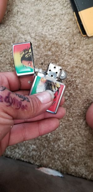 Bob Marley zippo lighter for Sale in Citrus Heights, CA