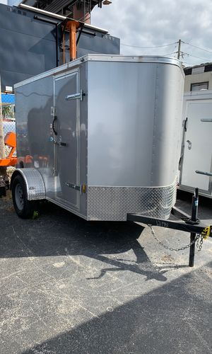 5x8 Enclosed Trailer In Stock Ready To Go! Financing Available! for Sale in Miami Springs, FL