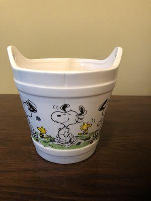 Vintage Snoopy Bucket Planter for Sale in Centreville, VA