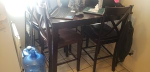 KITCHEN TABLE / 4 CHAIR EDITION for Sale in Rialto, CA
