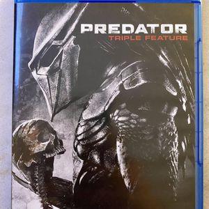 Predator Blueray Triple Movie Feature for Sale in Southgate, MI