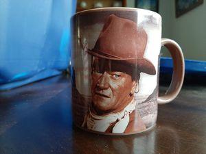 John Wayne mug for Sale in Pine Ridge, FL