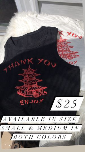 Chinese crop top for Sale in Cleveland, OH