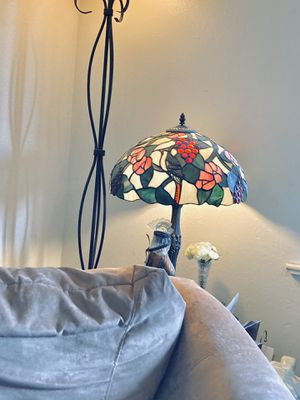 Tiffany lamp stained glass and floor lamp for Sale in Longview, TX