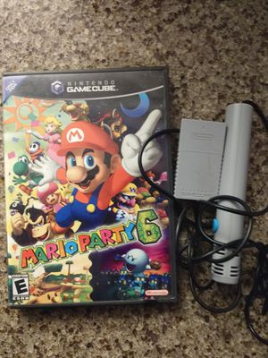 Nintendo Gamecube Game Mario Party 6 W/ Mich for Sale in Vancouver, WA