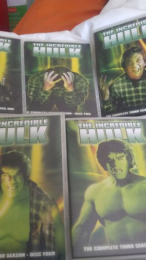 Complete 3rd Season of The Incredible Hulk for Sale in Tampa, FL