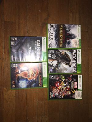 XBOX 360 GAMES (singles can be requested for different prices) for Sale in Portland, OR