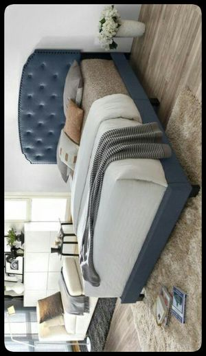 ✔Full✔ Cordelia Blue Full Bed for Sale in Washington, DC