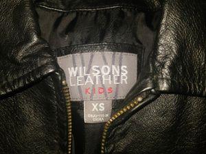 Wilsons Leather Jacket Little Kids Size XS for Sale in Fayetteville, NC