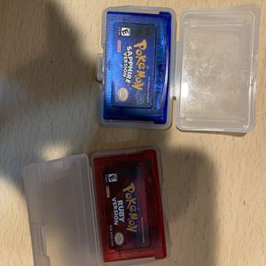 Pokémon Ruby And Sapphire Reproduction for Sale in Wenatchee, WA