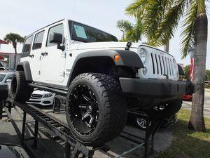2018 Jeep Wrangler JK Unlimited for Sale in Hialeah, FL