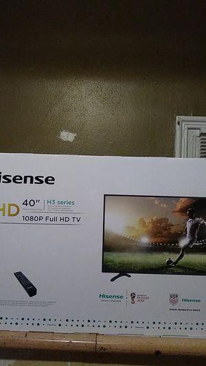 Hisense full 1080 40in T.V for Sale in STELA NIAGARA, NY
