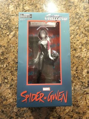Diamond Select Toys Marvel Statues Gallery Spider-gwen PVC Figure for Sale in San Gabriel, CA