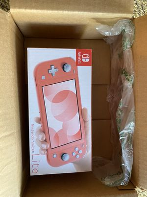 Nintendo Switch Lite Coral Brand New for Sale in Fremont, CA