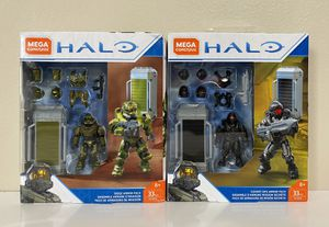 LOT MEGA CONSTRUX Halo Spartan Armor Packs - Siege Armor & Covert Ops Armor for Sale in Coconut Creek, FL