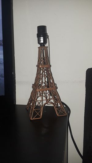 Two paris theme lamps for Sale in Fort Lauderdale, US