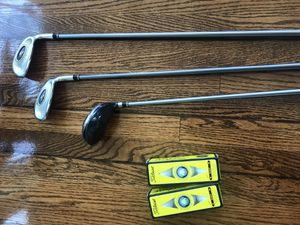 Golf Clubs and Titleist NXT Balls- King Cobra Set-7 king cobra offset S2 Hypersteel 5, ss-i 7 and ss-i 9 for Sale in San Diego, CA