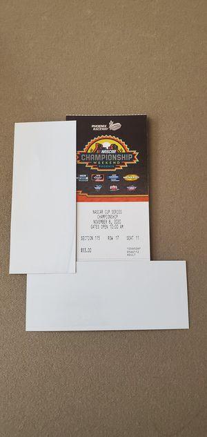 NASCAR Championship weekend tickets & RV spot for Sale in Waddell, AZ