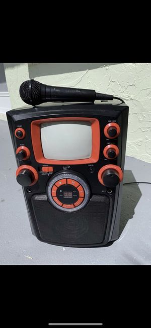 Bluetooth Kareoke Machine 50.00! Look at all the things I have for sale!! for Sale in Palm Beach Gardens, FL