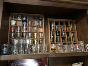 Shot-glass collection with display for Sale in Gilbert, AZ