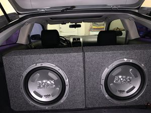 Boss 1400 watts subwoofers / car speakers for Sale in Port St. Lucie, FL