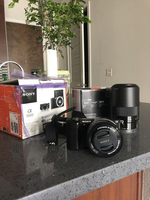 Sony a5000 Camera and Lens - BRAND NEW for Sale in Austin, TX