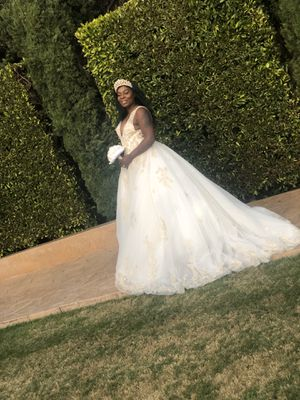 Wedding dress size 12 for Sale in San Diego, CA