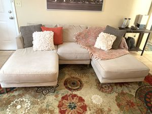 Carter 3 Piece Sectional Couch for Sale in Largo, FL