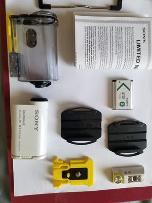 Sony Action Camera HDR AS100V 13.5MP Camera and 1080p Video for Sale in Glendale, CA