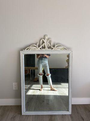 Vintage Antique White Mirror! for Sale in Oceanside, CA