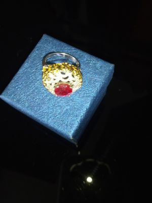 Ruby and multi gemstone ring for Sale in Detroit, MI